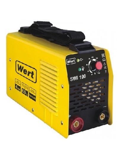 Сварочный аппарат инвертор WERT 187150 SWI 190
